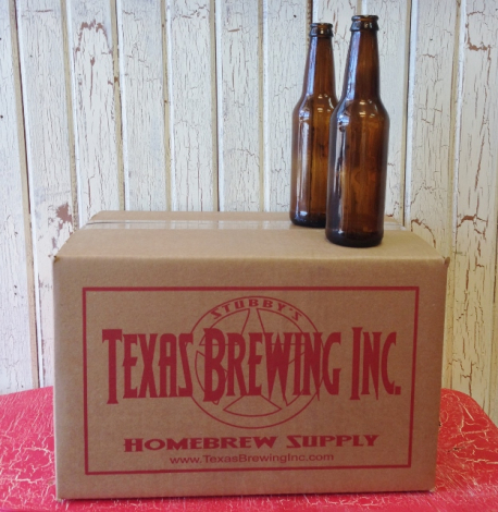 12 Ounce Beer Bottles Case of 24 - Pro Brew Supply