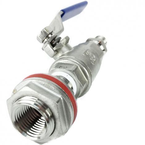1/2 inch ball valve kettle/cooler conversion kit