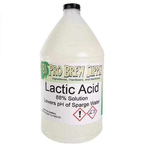 Lactic Acid - 1 Gallon Jug