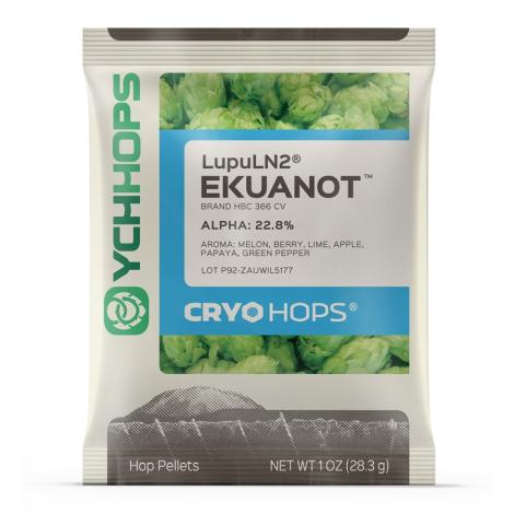 LupuLN2 Cryo Hop Pellets - Ekuanot