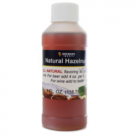 Hazelnut Flavoring Extract 4 oz.