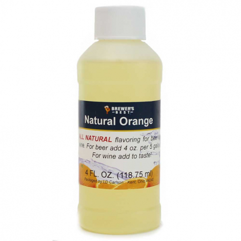 Natural Orange Flavoring Extract 4 oz.