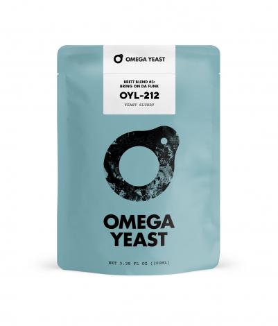 Omega Yeast Bring On Da Funk - Brettanomyces Blend #3 - OYL-212