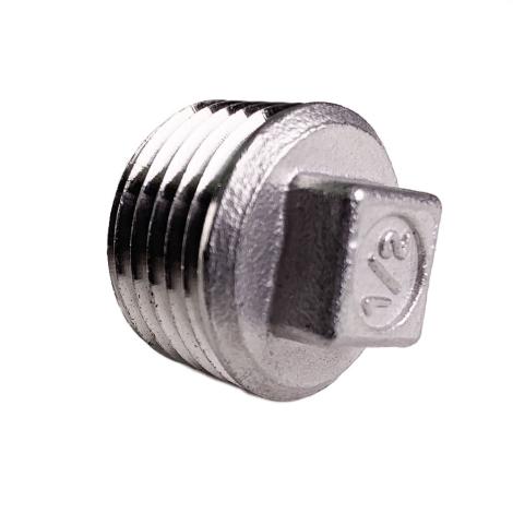 Square Plug - 1/2