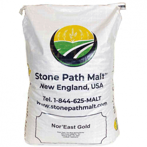 Stone Path Malt Nor'east Gold - 55 lb. Sack