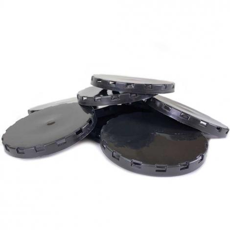 Vented Plastic Keg Cap - Black