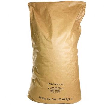 Unmalted Raw Wheat - 50 lb. Sack