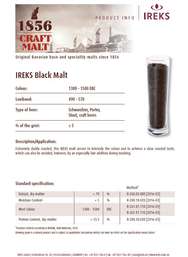 IREKS Black Malt