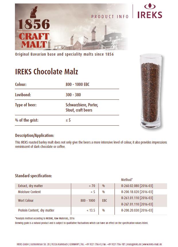 IREKS Chocolate
